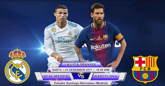 Real Madrid vs Barcelona 23 Desember 2017