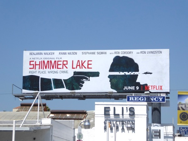 Shimmer Lake film billboard