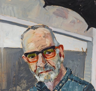 """Quid pro quo - portrait of photographer Gary Grealy"" by Alison Mackay 