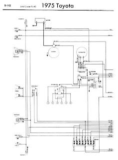 repair manuals toyota land cruiser fj40 1975 wiring diagrams. Black Bedroom Furniture Sets. Home Design Ideas