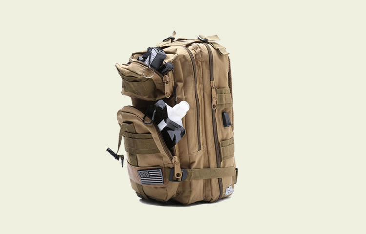 Fully Loaded Tactical Military Style Backpack - Discount coupon