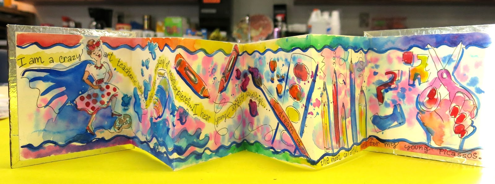 cassie stephens 4th grade art projects