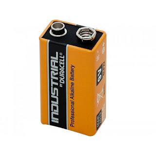 batteria duracell 9v industrial