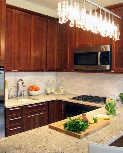 Ideas para cocinas peque as cocina y reposteros for Desayunadores para cocinas pequenas