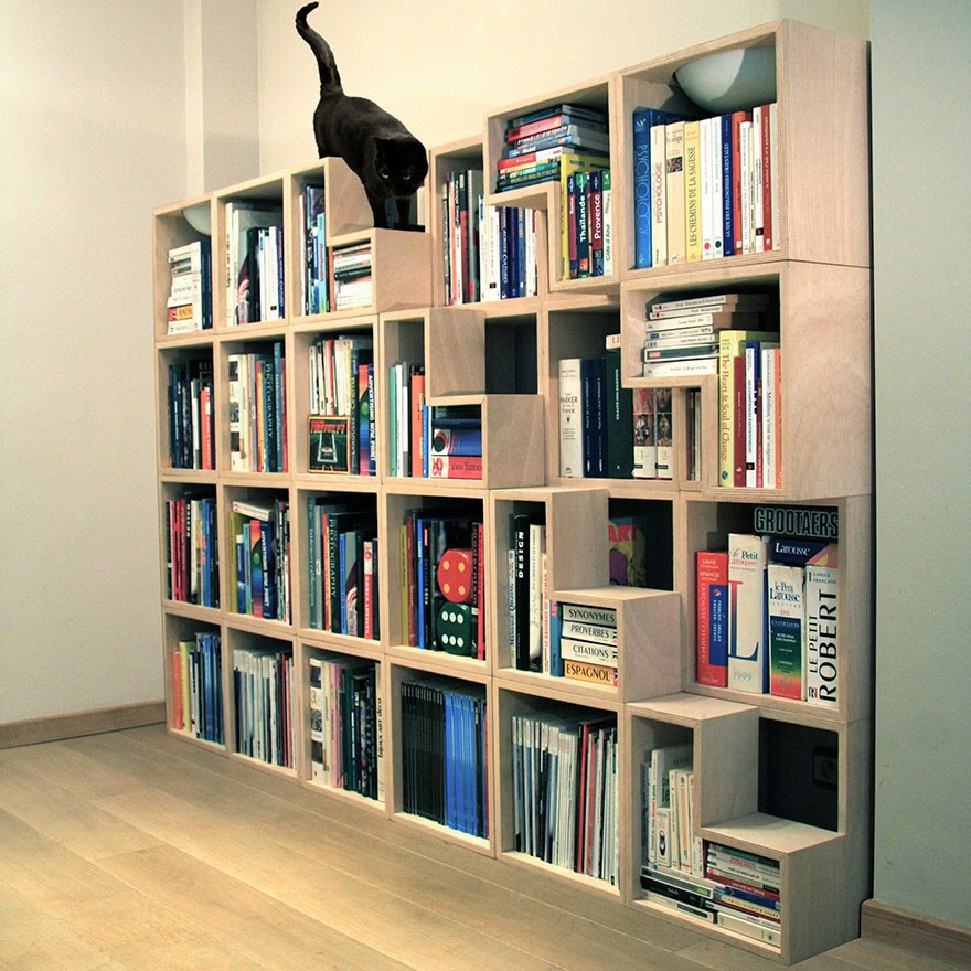 Book Furniture: 20 Awesome Furniture Design Ideas For Crazy Cat People