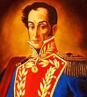 Imagen de Simón Bolivar a colores