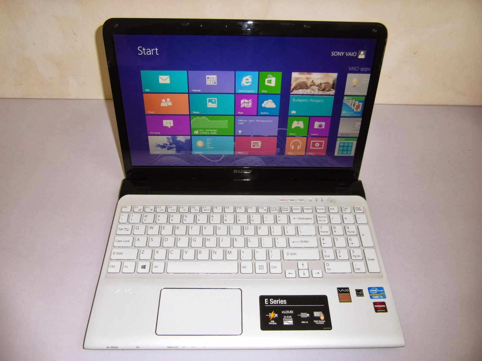 Three A Tech Computer Sales And Services Used Laptop Sony Vaio E Ram Ddr3 1gb Warranty Until 26 December 2014 Spec 3rd Generation Intel Core I5 3210m Processor 250 Ghz With Turbo Boost Up To 310 4gb