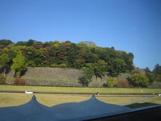 金沢城公園のいもり堀側石垣
