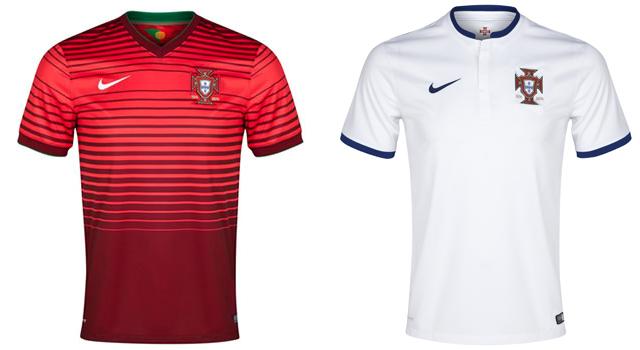 Camisetas selección Portugal Mundial 2014