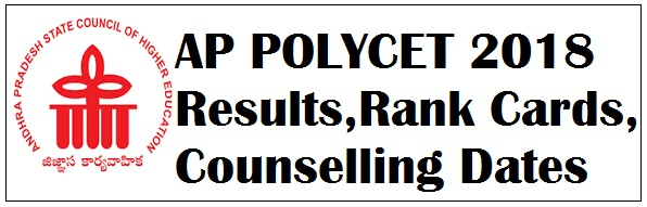 AP POLYCET 2018 Results AP CEEP 2018 Rank Cards,Counselling Dates