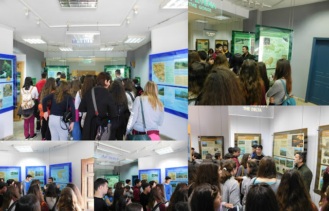 Επίσκεψη μαθητών από το Γυμνάσιο Ιθάκης στο Κέντρο Πληροφόρησης Σαγιάδας