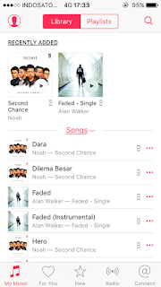 Lagu iTunes Alan Walker Faded