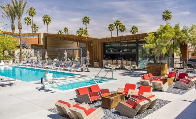 ARRIVE Palm Springs is a crossroads for travelers and locals that reflects the surrounding style, food, drinks and culture.