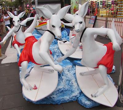 Surfing Kangaroos