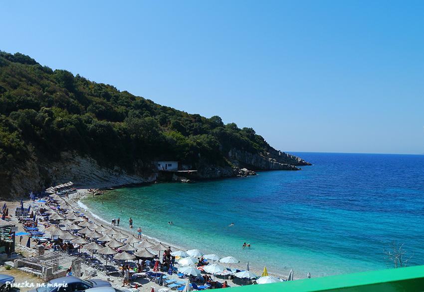 plaże Ksamil