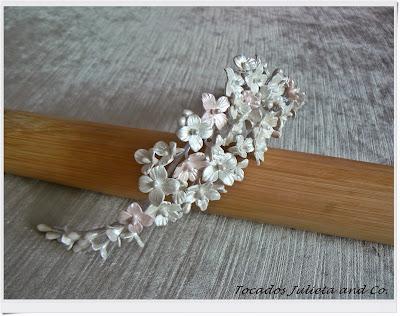 tiara flores novia