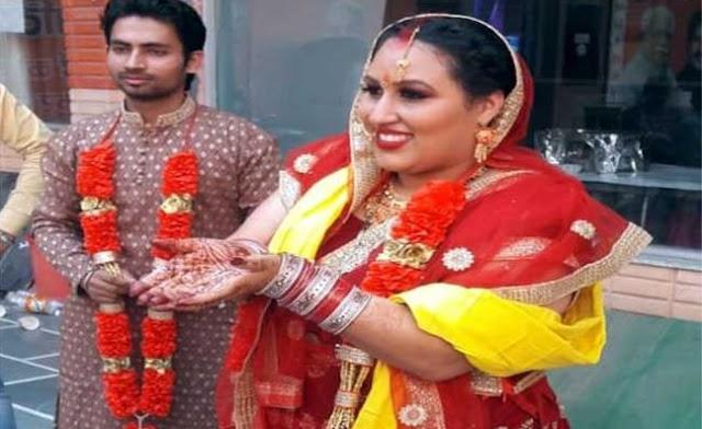 कैलिफोर्निया की युवती सेलिना ने हरियाणा के छोरे से की शादी - newsonfloor.com