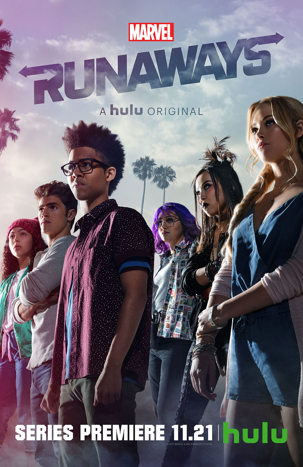 Marvel's Runaways season 1 poster