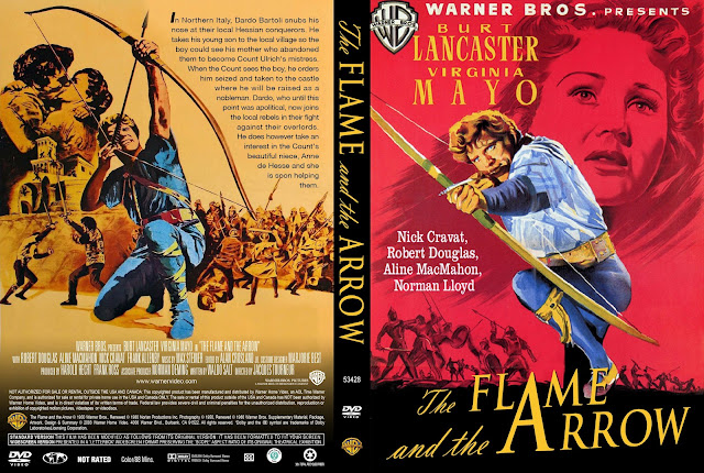The Flame And The Arrow DVD Cover