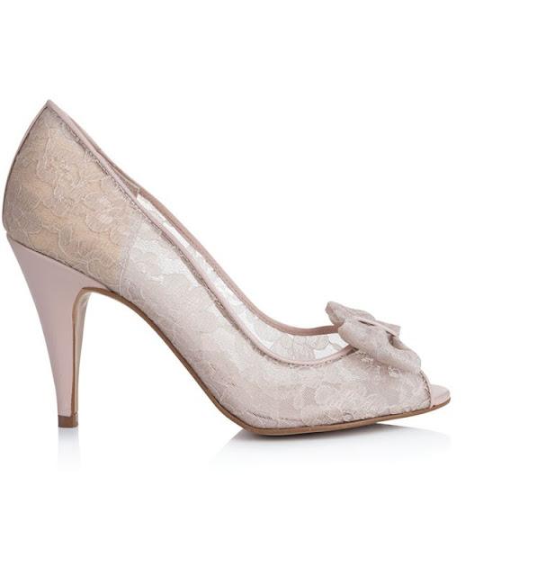 zapatos de novia para jardin