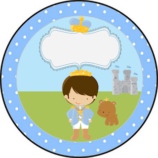 Baby Prince: Free Printable Cupcake Toppers.