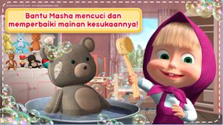 Masha dan Beruang: Permainan Membersihkan Rumah Apk - Free Download Android Game