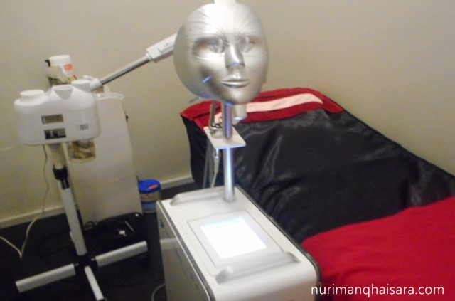 mesin spa,hannan medispa treatment,treatment glowing
