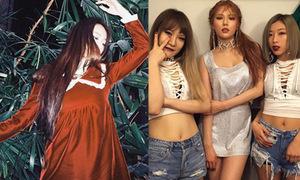Sao Hàn 11/3: Krystal ma mị, Hyun Ah mặc váy không thể ngắn hơn