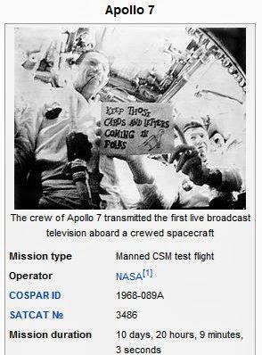 AllThingsDigitalMarketing Blog: Apollo 7, the first manned ...
