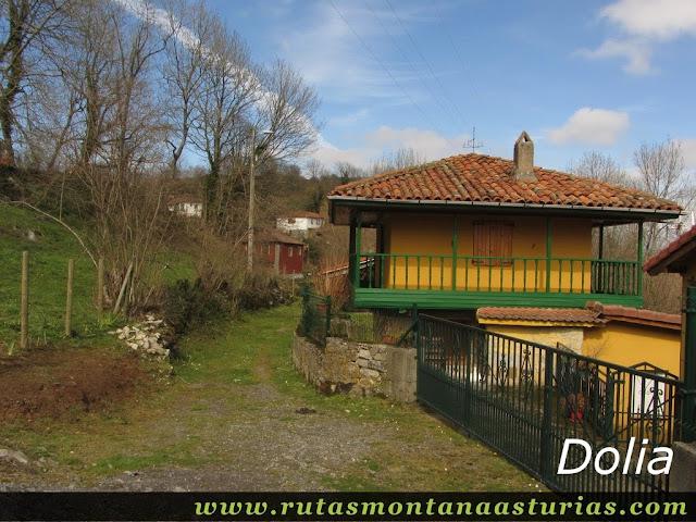 Entrada en Dolia, Belmonte