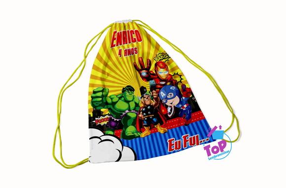 Lembrancinhas mochila Vingadores
