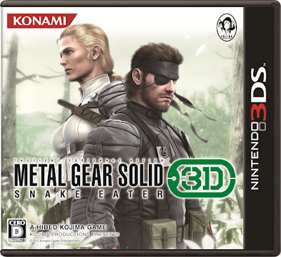 Metal Gear Solid 3D Snake Eater Decrypted 3DS USA