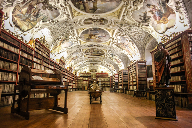 Perpustakaan Umum Strahov Monastery Alternatif Tujuan Wisata
