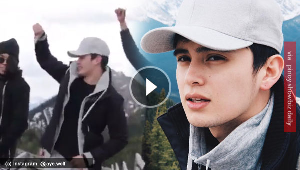James Reid dancing in the mountains with G-Force guys is just the coolest