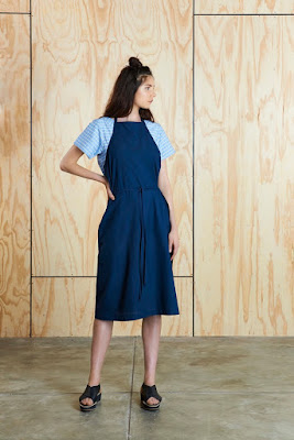 Bhalo Apron Wrap Dress