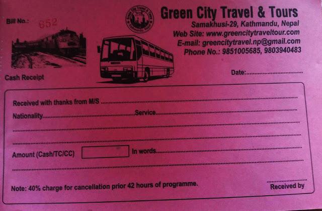 Kathmandu to Delhi Bus booking