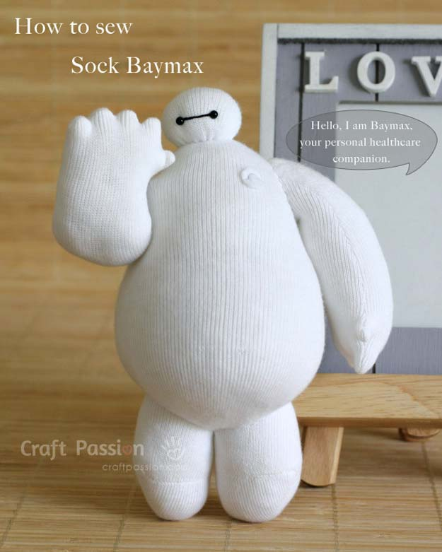 DIY boneka dari kaos kaki bekas Bymax