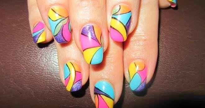 Top Best Nails Art Designs For Girls 2014 Wfwomen