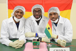 Ghana launches its first satellite into space in 2017