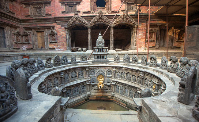 www.xvlor.com Lalitpur or Patan is old city in Kathmandu Valley like an open-air museum