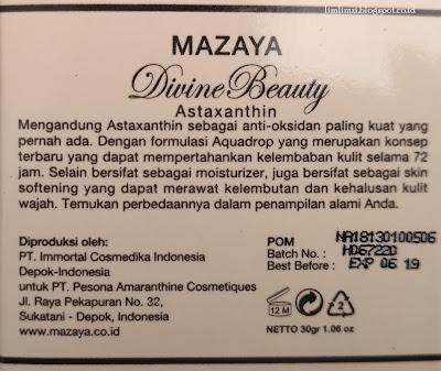 Mazaya Skincare Moisturizer