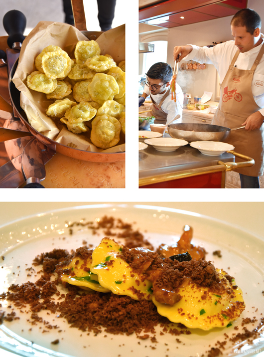 Ein Menü rund um die Pasta von Giovanni Rana – einfach nur köstlich!