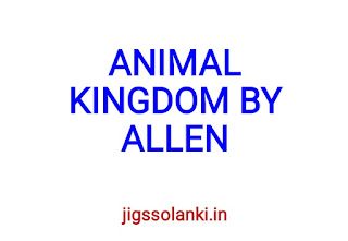 ANIMAL KINGDOM NOTE BY ALLEN INSTITUTE