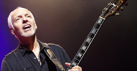 TEN WILD FACTS ABOUT GUITARIST PETER FRAMPTON