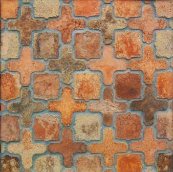 Avente Tile's Arabesque Cement Tile Pavers