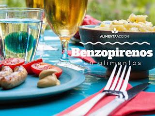 benzopirenos en alimentos, cáncer, alimentación, seguridad alimentaria