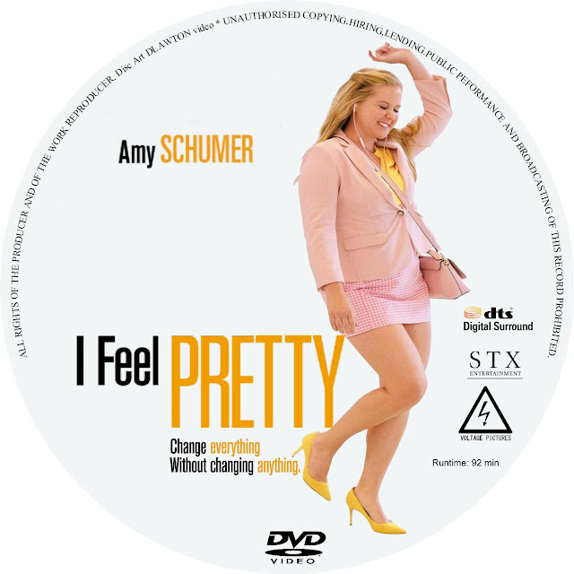 I Feel Pretty DVD Label