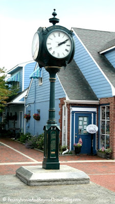 Cape May Town Clock in New Jersey