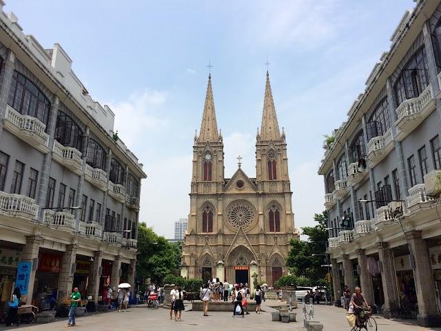 【廣州旅行】百年歷史 石室聖心大教堂