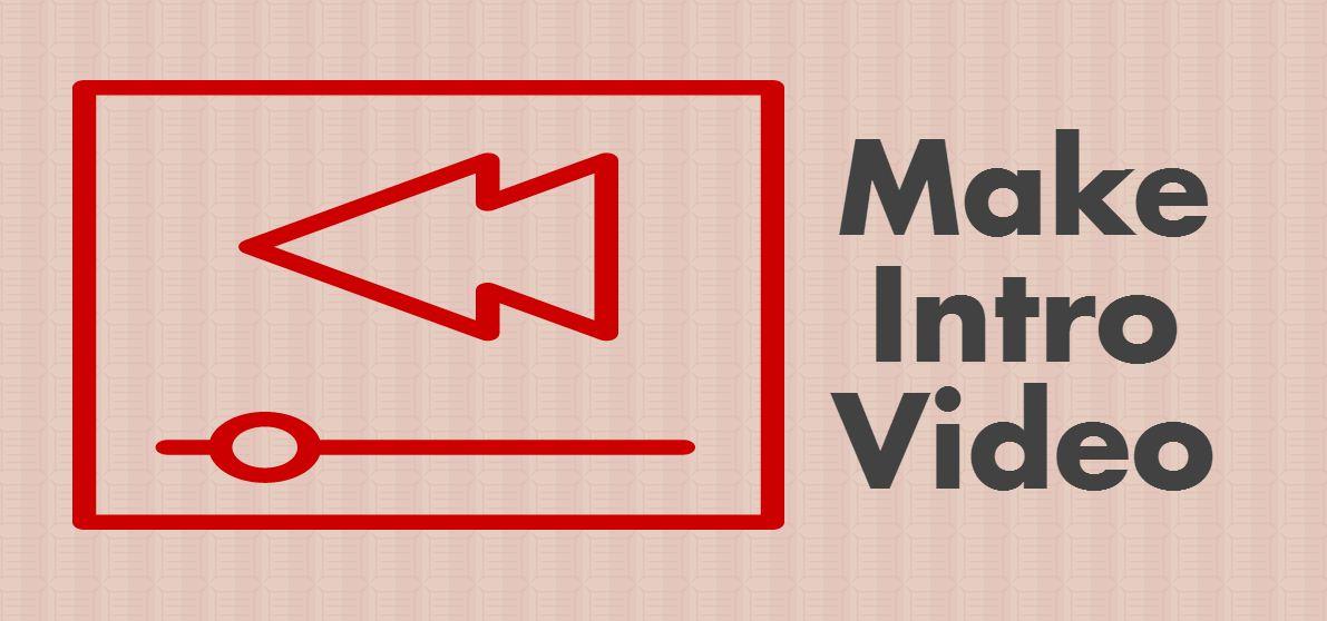Make Professional Intro Video using Sony Vegas